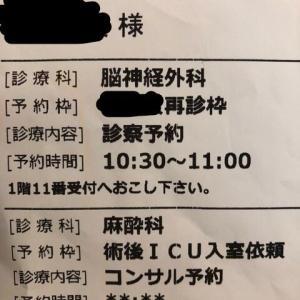 術後ICU予約?