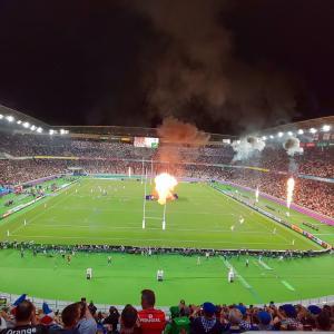すばらしい時間をありがとう☆ラグビーワールドカップ2019