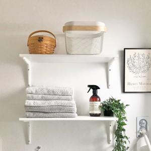 【素人のDIY】洗濯機横にIKEAの棚を壁付けで快適に!材料と取り付け方