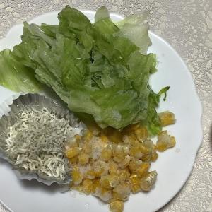 冷凍🥬レタスでチャーハン&冷凍レタススープを作ったよ❣️忙しい主婦にお勧めです。