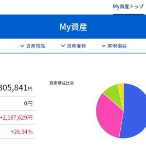 【投資】マイ資産1000万円超えました