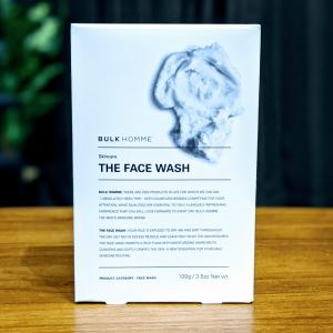 """【BULK HOMME(バルクオム) レビュー】話題のスキンケアブランドの洗顔料""""THE FACE WASH""""を使用してみました。"""