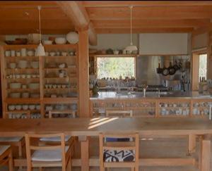 陶芸家 大谷ご一家の台所