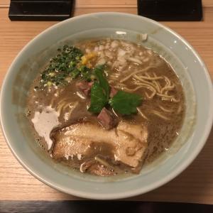 自家製麺 MENSHO TOKYO【後楽園】ラム煮干中華そば