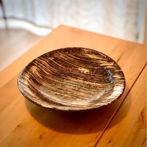 【購入品ご紹介】中垣連次作「雪十草たわみ皿」
