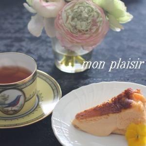簡単とろ~りバスク風チーズケーキ