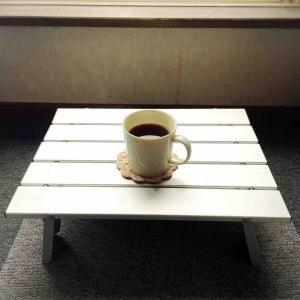 雨の朝のコーヒータイム