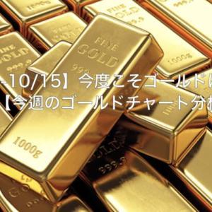 【10/11-10/15】今度こそゴールドは売り…なのか?【今週のゴールドチャート分析】