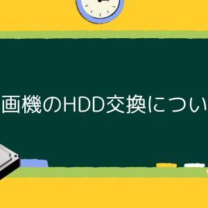 録画機(DVR/NVR)のHDD交換修理の仕方について