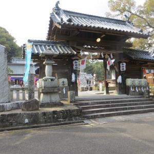 香南町の冠纓神社を訪れて