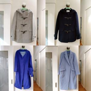 コート全5着。