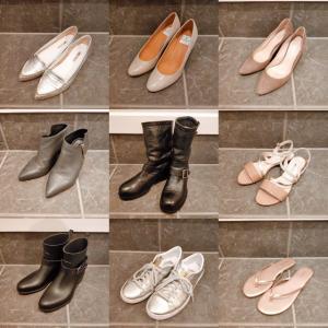 基本の靴9足。
