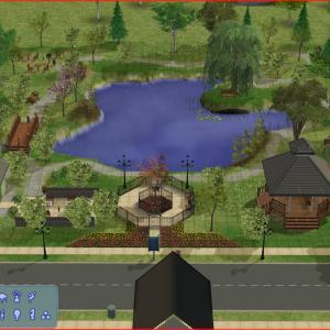 プレザントビュー:公共区画・公園とプール