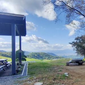 【見晴らし最高!遊具あり】ファミリーランド内にある天童高原キャンプ場