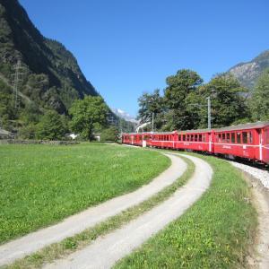 スイス ベルニナ鉄道