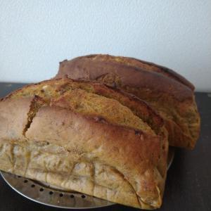 朝からパン作り