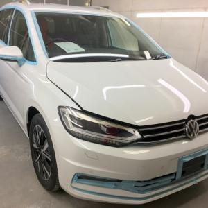 VWゴルフトゥーランを新車コーティング!