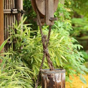 高蔵寺 つるべ井戸