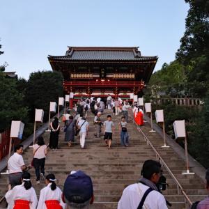 鎌倉鶴岡八幡宮 ぼんぼり祭り