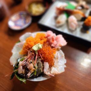宗像市大島  壽や 三郎  海鮮丼