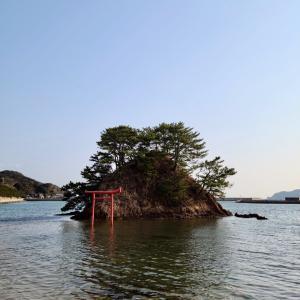 夢の小夜島(さよじま) 海の道  宗像市大島