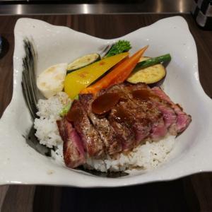 鉄板焼 小助川 @上野広小路 ~肉がうまい野菜もうまい~