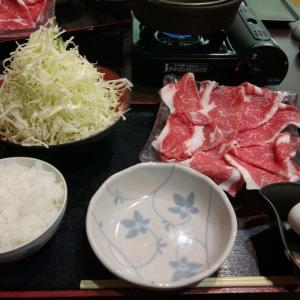 小豆 @上野 ~オリーブ牛の牛すき焼~