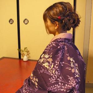 羽織コーディネート 洗える長羽織で。