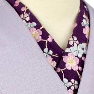 580円の刺繍半襟をコーデしてみました☆彡