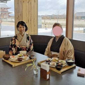 桜♪さんと、着物でランチしてきました(*^▽^*)