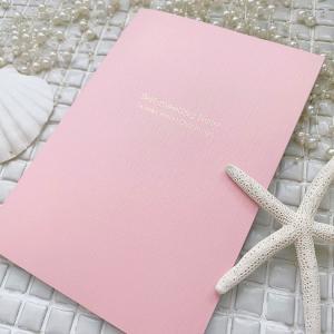 【クラファン限定】ピンクのセルフミーティングノート販売開始!! 8月4日迄の販売