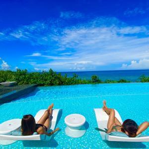 ハレクラニ沖縄でオンラインサロン読書会♡&3つのプールのレポート!