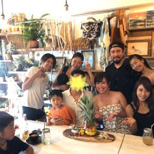 家族的な仲間♡葉山の夏!! -海の家でベリーダンス・神社でLIVE-