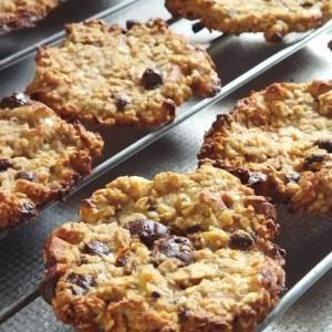 バナナとオートミールのソフトクッキー