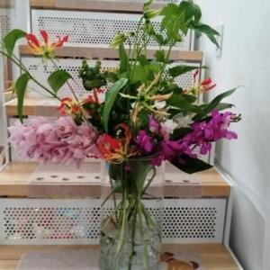 cozy教室の生花レッスン♬