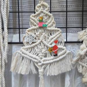 マクラメ編み クリスマスツリー♬