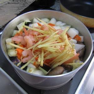 ●冬瓜と海老のスープでブランチ