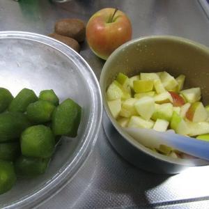 ●キウイフルーツとリンゴ(ぐんま名月)のジャム