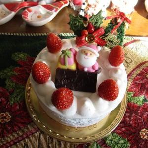 ●ケーキのホール食い Xmasイブイブ