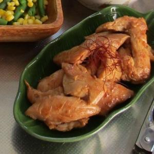●味噌漬け鶏ささみのごま油焼き・・・週末の惣菜♪♪♪♪