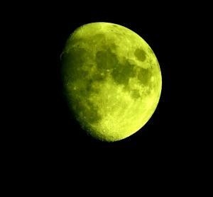 今日の月!