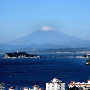 今朝の富士山をド.アップで!