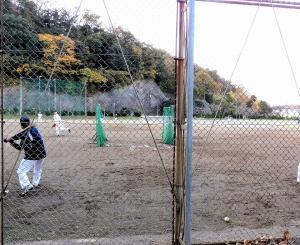 練習日(フリーバッティング)