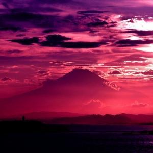 トワイライト富士!
