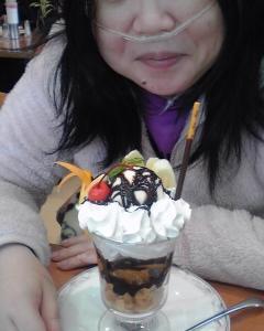 チョコレートパフェ♪