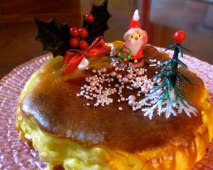 卵・小麦使用チーズケーキに挑戦