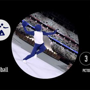 オリンピック開会式のピクトグラムを体現するパフォーマンスが最高だった