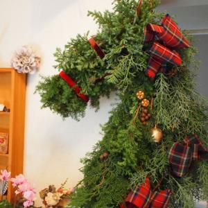 2018年から2019年 (2)11月2週目あたり。Christmas wreathレッスン