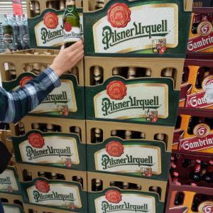 中欧周遊旅★ビール大国チェコのスーパー
