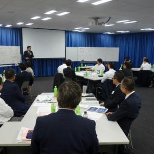 10月17日は「チームを動かすための管理職塾(全6回)」(大阪中小企業投資育成株式会社主催)を開催しました。